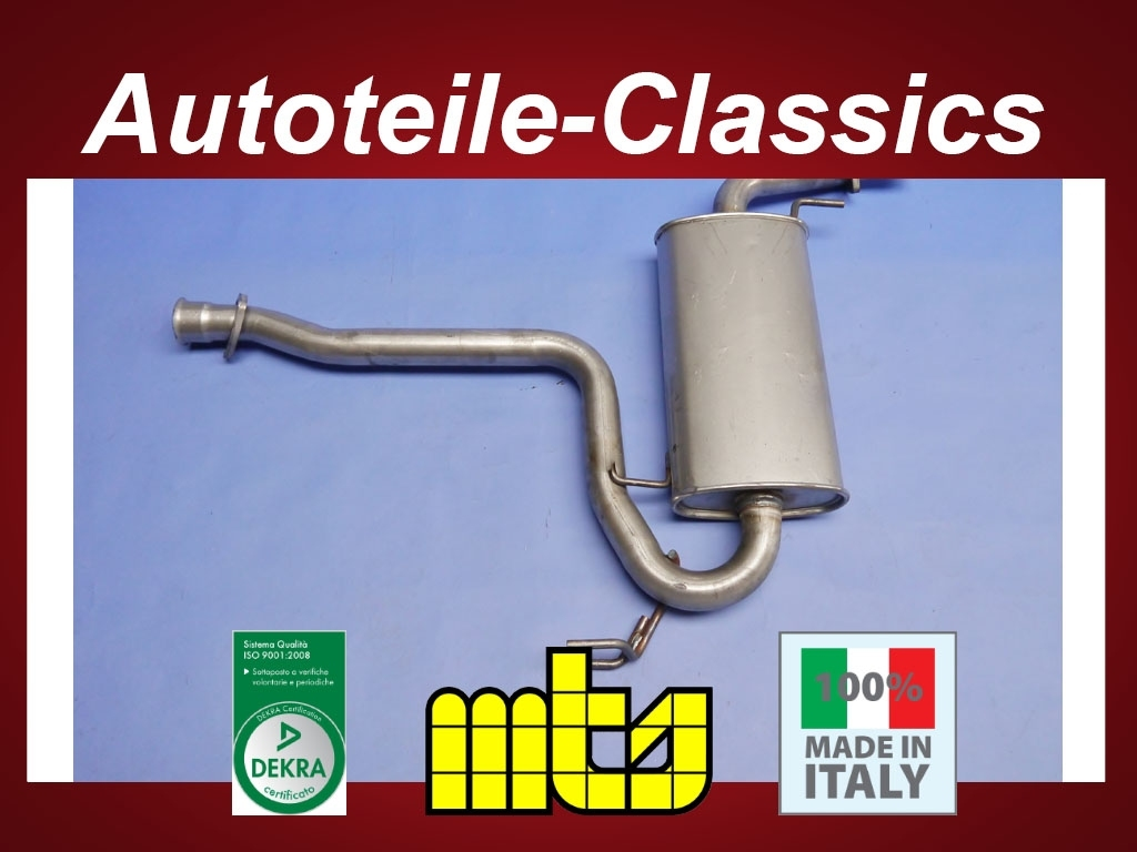 Anbauteile MTS Mitteltopf NEU Alfa Romeo GTV Spider 916 1.8 2.0 3.0 Auspuff